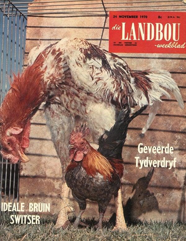 So het die Landbouweekblad van 24 November 1970 se