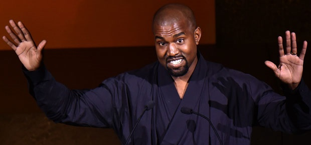 Kanye West. (Getty Images)