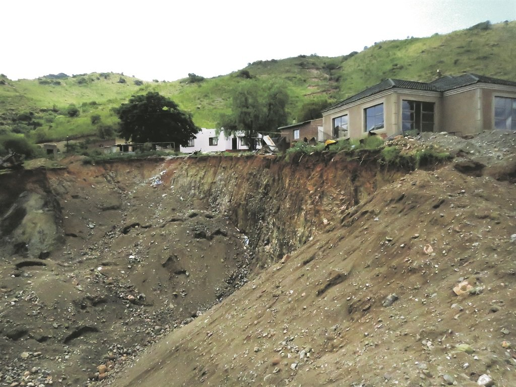 Illegal chrome mining has turned Mooihoek village, about 34km northwest of Burgersfort in Limpopo, into a dangerous place for residents as unscrupulous miners dig up the ground near their homes. The activity has, however, created opportunities for locals who have taken to mining themselves. Picture: Sizwe sama Yende