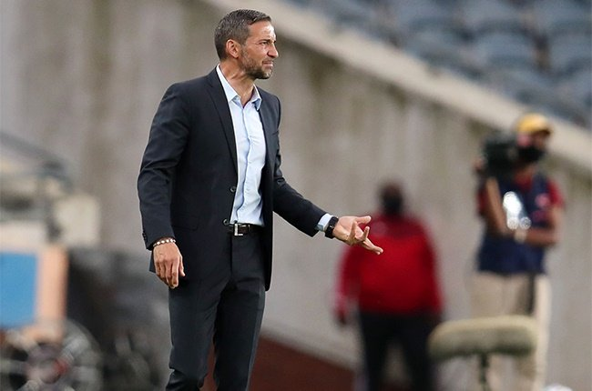 Josef Zinnbauer, coach of Orlando Pirates during the MTN8 quarter final between Orlando Pirates and Cape Town City on October 17, 2020 at Orlando stadium in Soweto, South Africa.