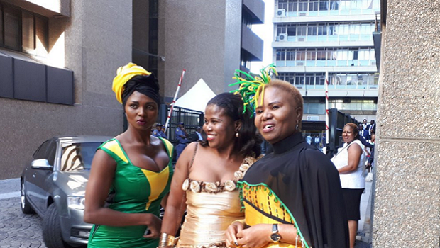 The SONA 2018 red carpet - finally a stylish, happy place!