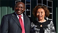 WATCH: Meet South Africa's new first lady
