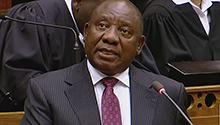 WATCH: Ramaphosa announces new Cabinet, Mabuza for deputy