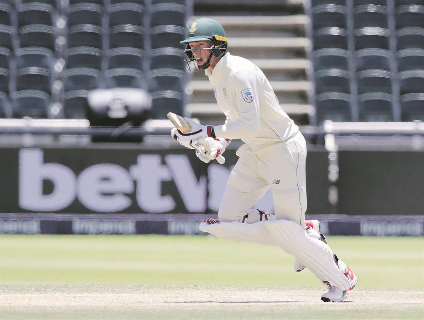 Rassie How one post helped Van der Dussen leap to the front of the Proteas' captaincy race. Picture: Samuel Shivambu / BackpagePix