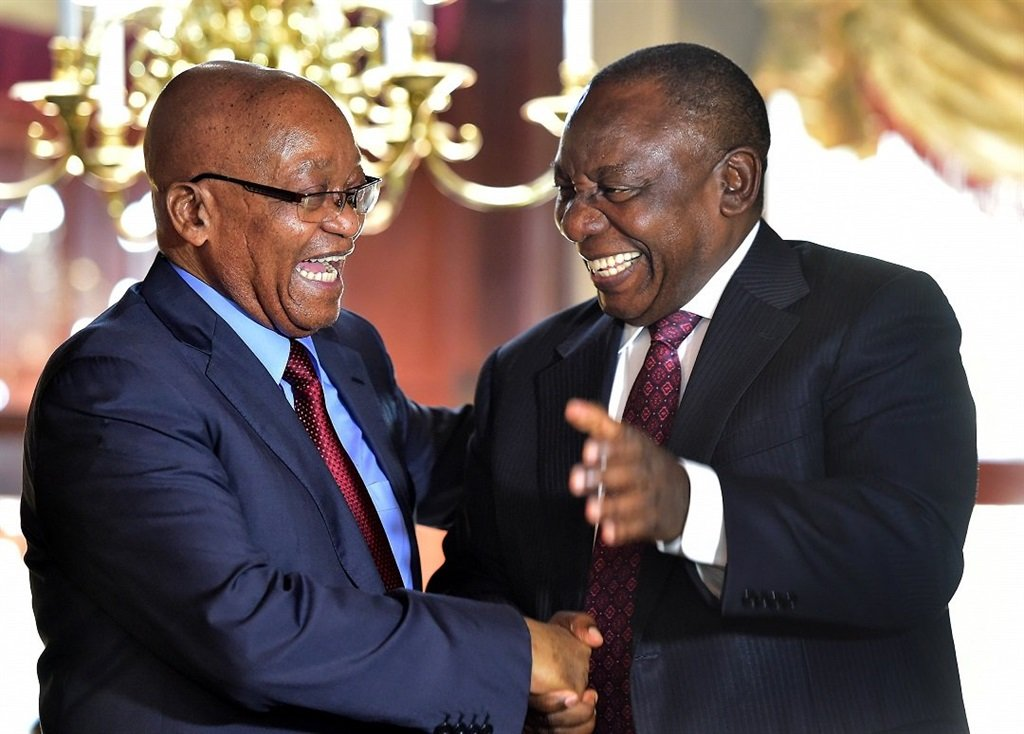 Zuma and Ramaphosa all smiles at farewell party | Citypress