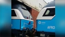 WATCH: Leaked video shows oversized Prasa trains narrowly missing workshop entrance