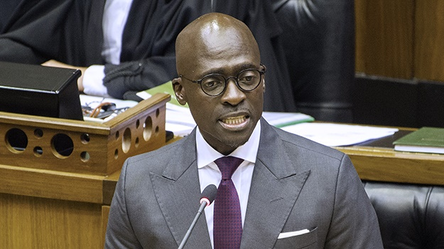 Minister of Finance Malusi Gigaba. (Rodger Bosch,