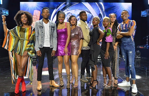 Idols SA top 17 group A contestants.