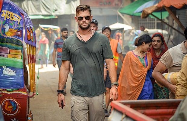 Chris Hemsworth in 'Extraction.'