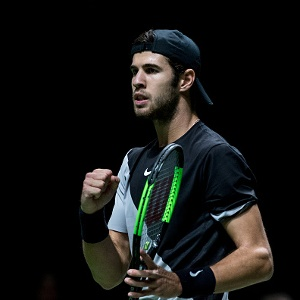 Sport24.co.za | Defending champion Khachanov dumped out in Paris, Shapalova through