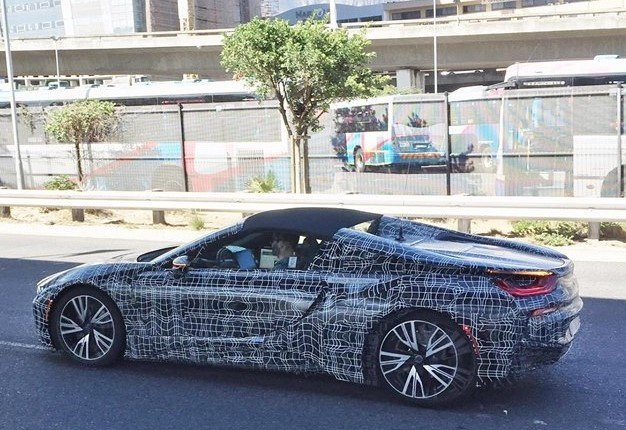 Bmw S I8 Roadster Spotted Testing In Cape Town Wheels24