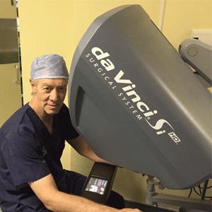 Da Vinci Robot surgery for prostate cancer