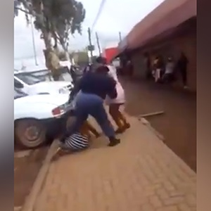 Preliminary disciplinary action has been taken against an Eastern Cape police officer who was caught on camera shoving, kicking and punching member of the public.