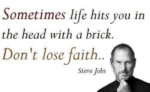 Steve jobs on positive mindset