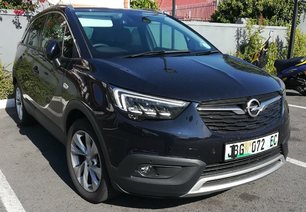 review opel crossland x 1 2 litre turbo cosmo driven wheels24. Black Bedroom Furniture Sets. Home Design Ideas