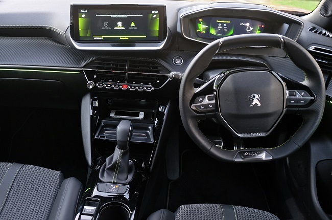 The displays in the new Peugeot 2008 are innovative and user friendly. The  i-Cockpit® 3D instrument cluster in front of the driver projects like a hologram. The row of aviation style toggle switches is really practical