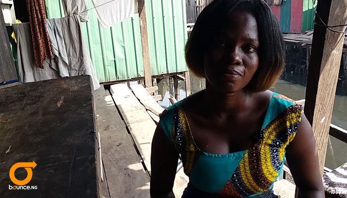 Girl in Makoko can read without going to school