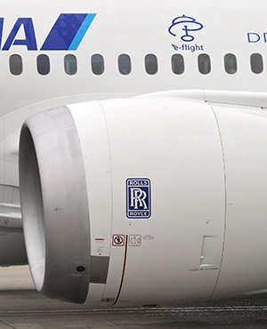 Rolls-Royce, the British maker of plane engines an