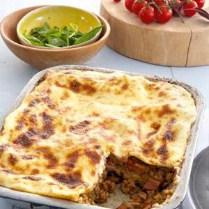 recipe, lasagne, pork