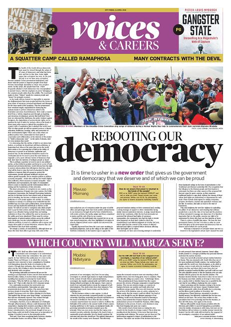 City Press, 14 April 2019.