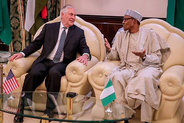 Buhari speaks to US on Dapchi and Chibok girls