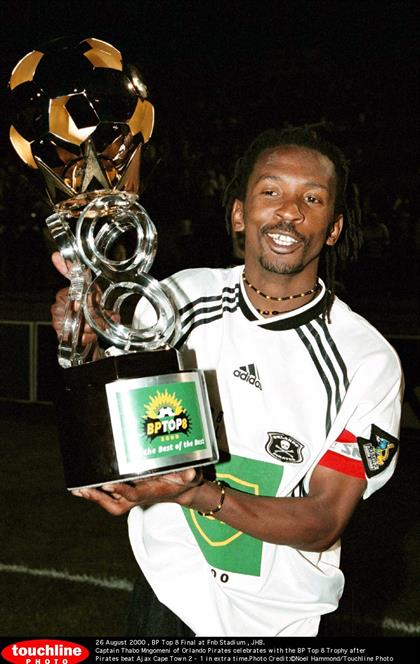 CAPE TOWN, SOUTH AFRICA - JANUARY 14: Thabo Mngome