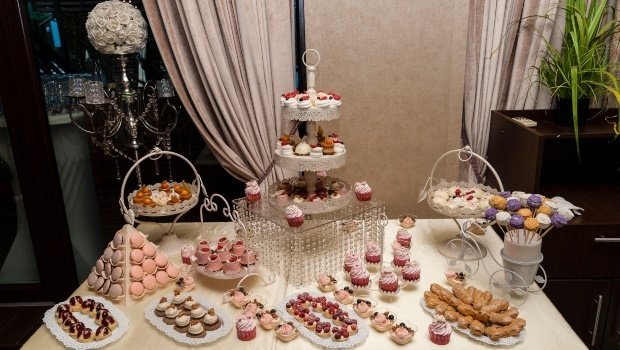 The couple was mocked for not having a more lavish wedding spread. (PHOTO: Getty/Gallo Images)