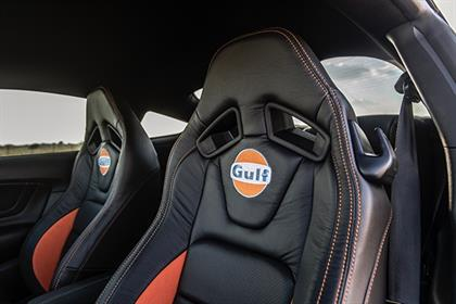 Limited edition Ford Mustang: This blue and orange stallion