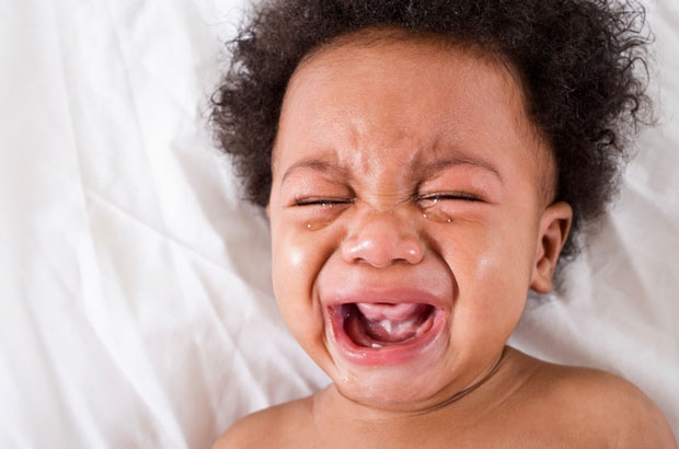 Sometimes babies cry because they are overstimulated.