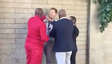 WATCH: EFF's Floyd Shivambu attacks Netwerk24 journalist