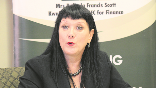 KZN Finance MEC Belinda Scott.