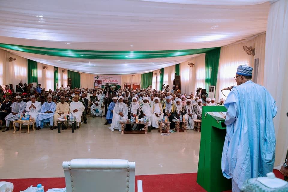 Buhari in Zamfara State while Dapchi girls wait