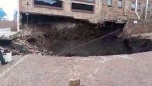 Centurion shop owner says sinkholes are a 'time bomb waiting to happen'