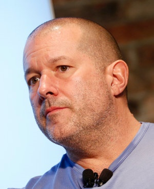 Jony Ive speaks onstage during the 2017 New Yorker