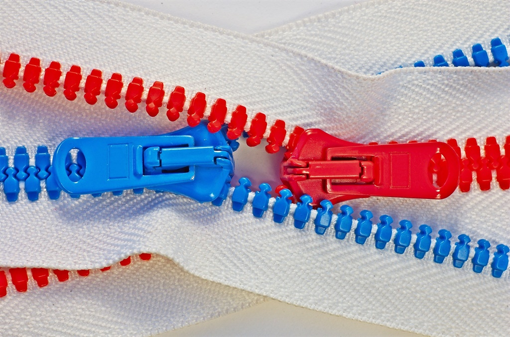 zips used in making clothes