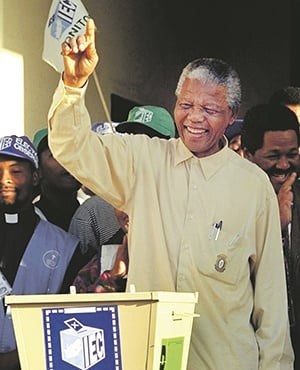 Many of us lack a basic understanding of history, to the extent that in some quarters former president Nelson Mandela is now considered a sellout, argues the writer. PHOTO: AP