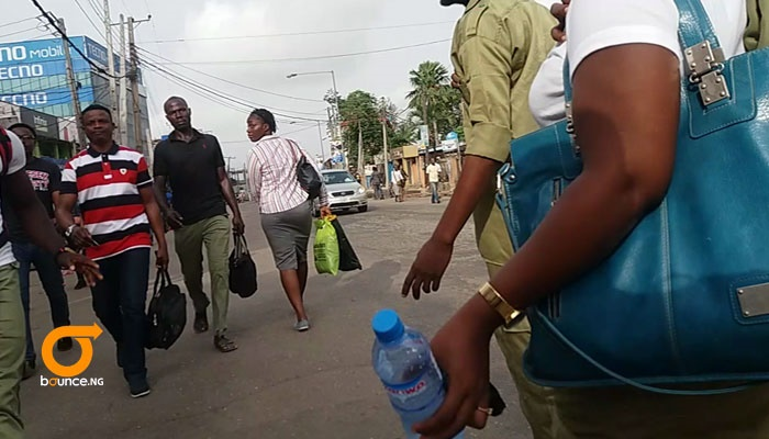 Buhari's presence in lagos makes residents trek