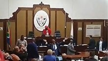 No confidence motion in Athol Trollip postponed after EFF, DA scuffles break out