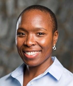 Basani Maluleke, head of African Bank.