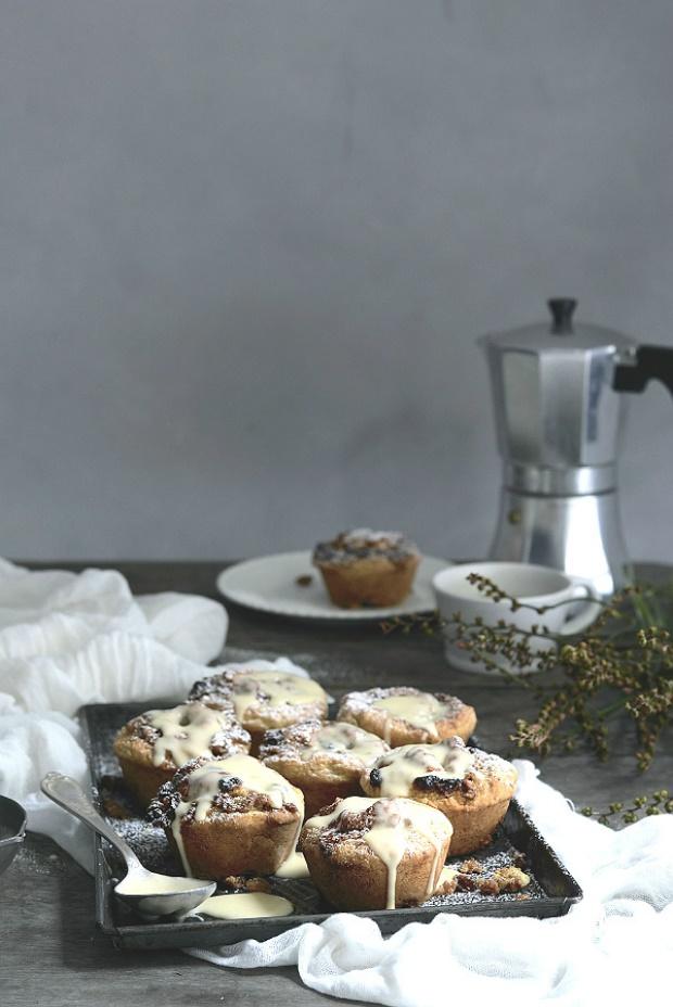 hot cross bun scroll scones recipe