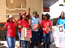 WATCH: Shoprite employees strike over unfair work conditions