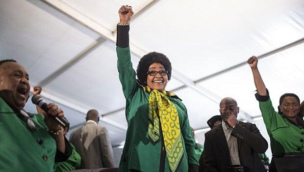 The fearless Nomzamo Winifred Zanyiwe Madikizela-Mandela  Credit: Getty images