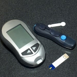Blood glucose meter for diabetes