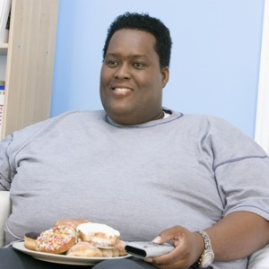 Man with obesity and risk of diabetes