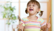 What does a child's healthy diet look like?