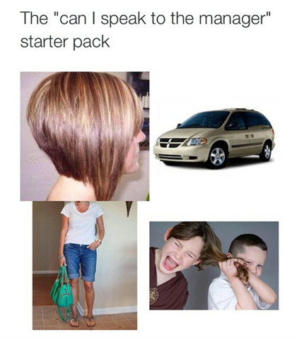 Why the 'can I speak to the manager' haircut has you hot and