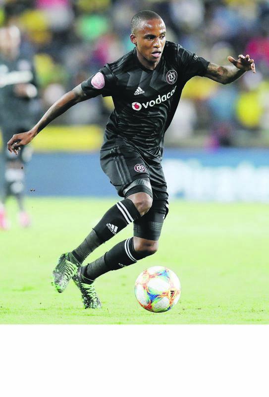 quicksilver Orlando Pirates has Thembinkosi Lorch to thank for the team's impressive run PHOTO: Muzi Ntombela / BackpagePix