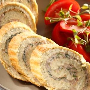 Photo: Tuna and spinach roll