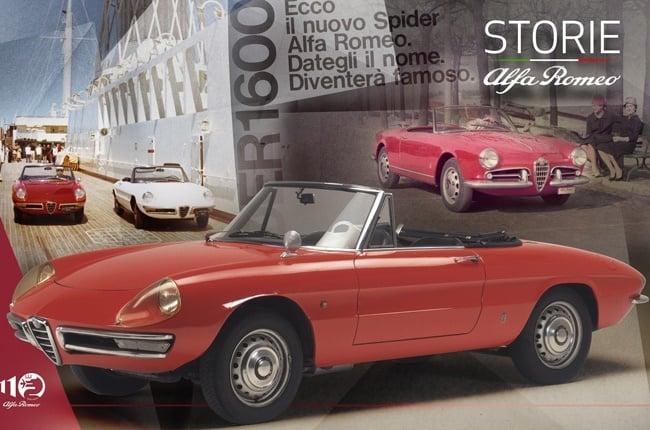 Alfa Romeo Duetto Spider. Image: QuickPic