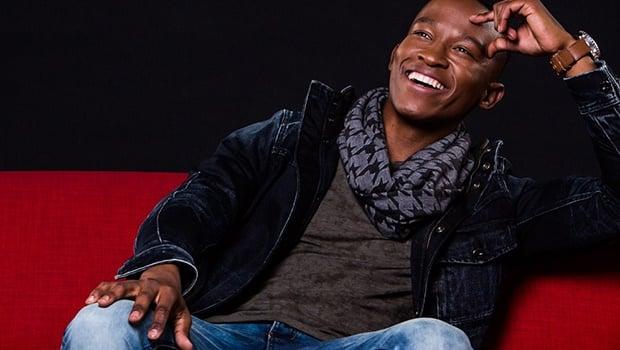 Media personality Katlego Maboe. Image by Michael Le Grange